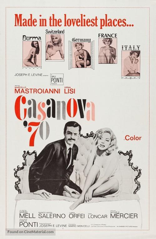 Casanova '70 - Movie Poster