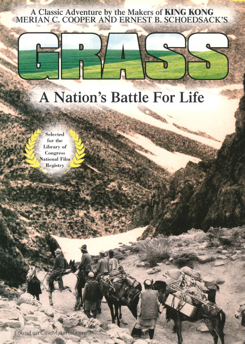 Grass: A Nation's Battle for Life - Movie Cover