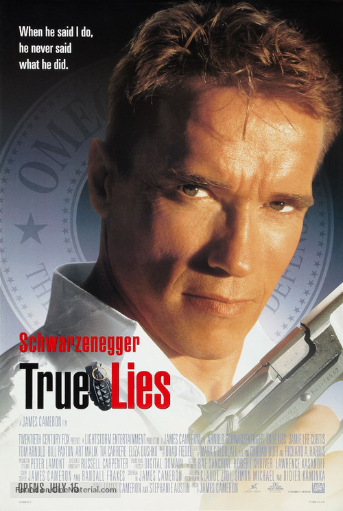 True Lies - Theatrical movie poster