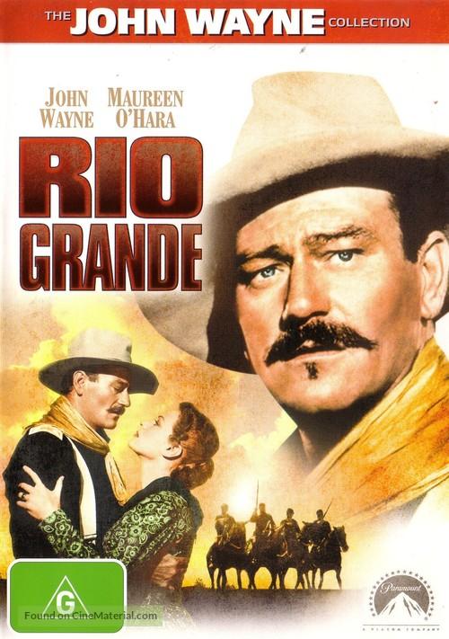 Rio Grande - Australian DVD movie cover