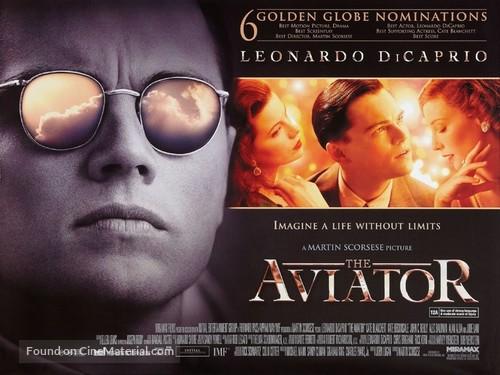 The Aviator - British Movie Poster