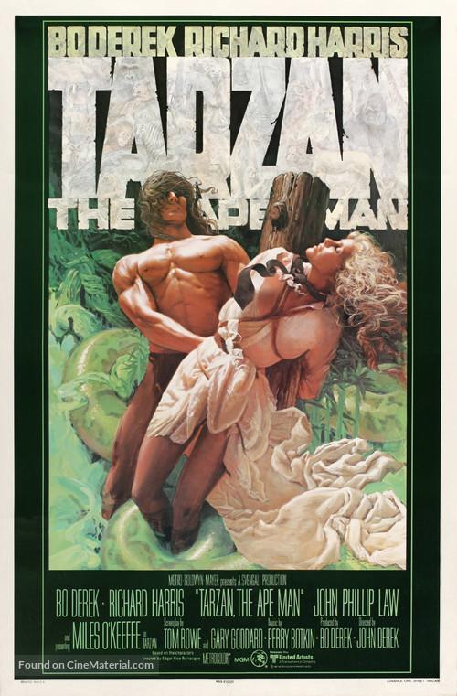 Tarzan, the Ape Man - Advance movie poster