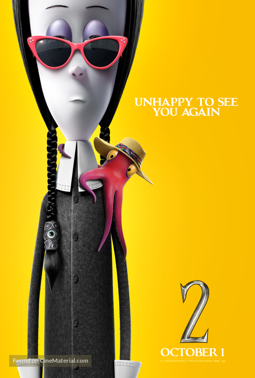 The Addams Family 2 - Movie Poster