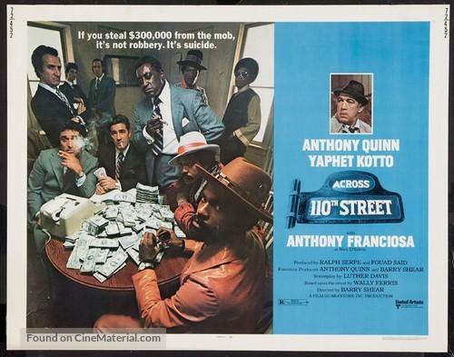 Across 110th Street - Movie Poster