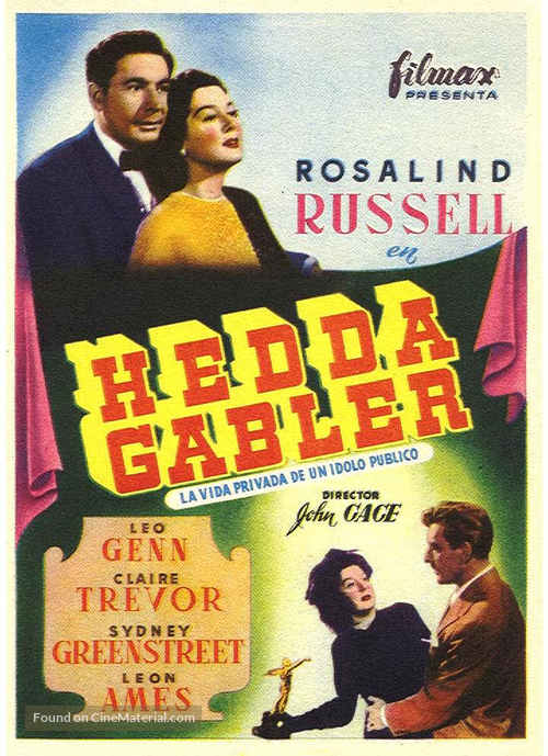 The Velvet Touch - Spanish Movie Poster