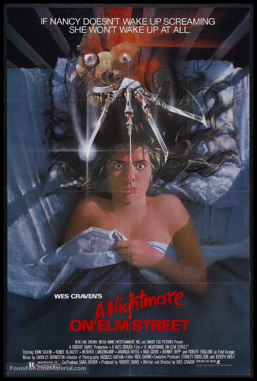 A Nightmare On Elm Street - Movie Poster