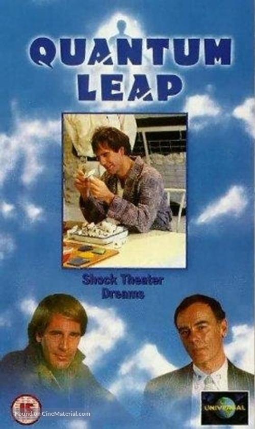 """""""Quantum Leap"""" - British VHS movie cover"""