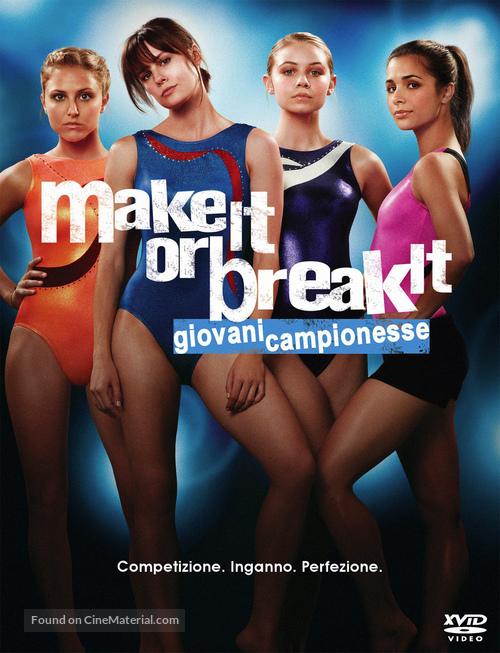 """""""Make It or Break It"""" - Italian DVD movie cover"""