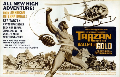 Tarzan and the Valley of Gold - Movie Poster