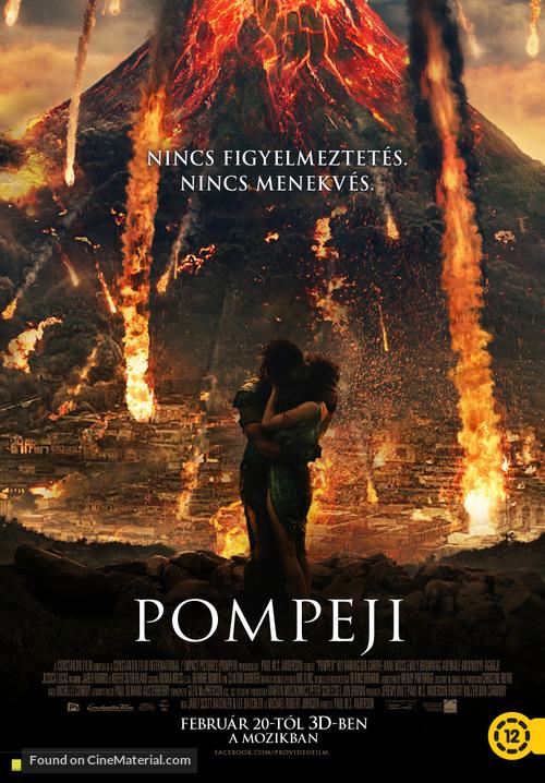 Pompeii - Hungarian Movie Poster