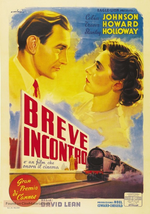 Brief Encounter - Italian Movie Poster