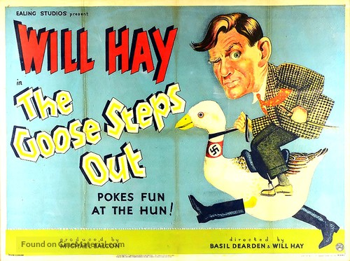 The Goose Steps Out - British Movie Poster