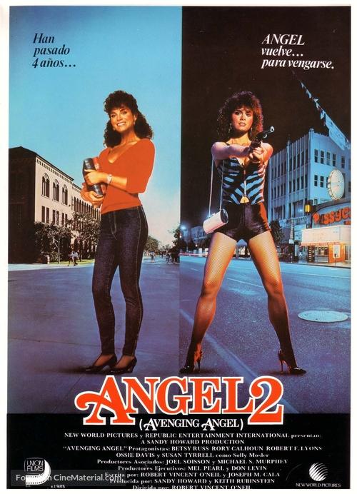 Avenging Angel - Spanish Movie Poster