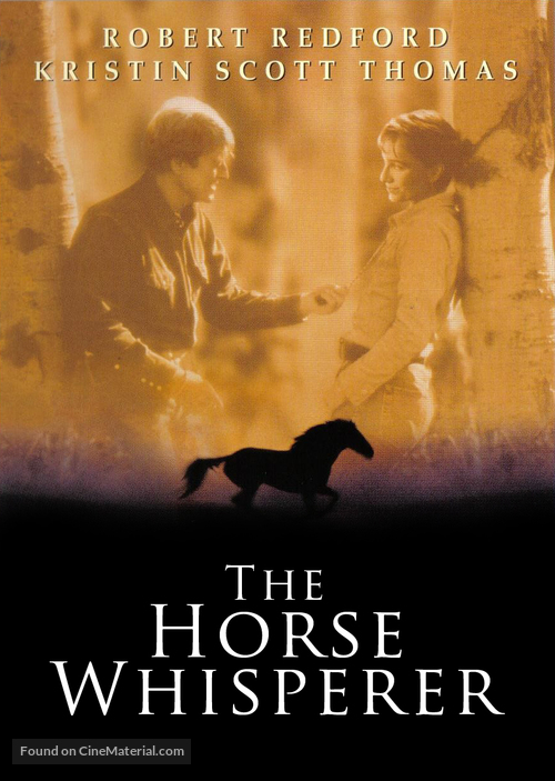 The Horse Whisperer - DVD movie cover