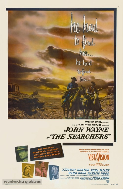 The Searchers - Movie Poster