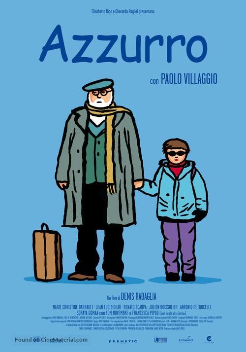 Azzurro - Italian Movie Poster