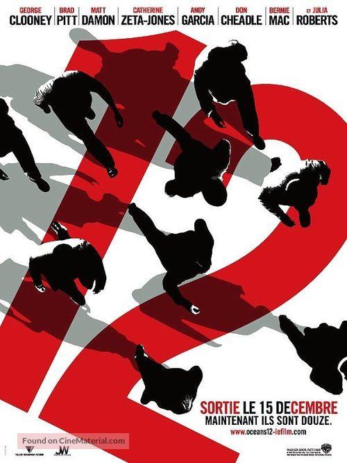 Ocean's Twelve - French Movie Poster