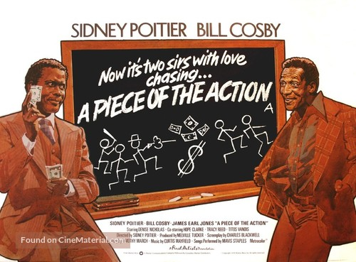 A Piece of the Action - British Movie Poster