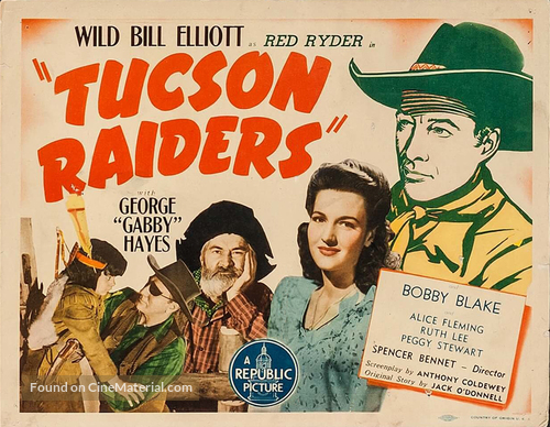 Tucson Raiders - Movie Poster