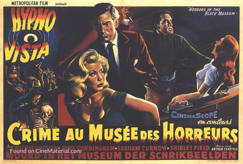 Horrors of the Black Museum - Belgian Movie Poster