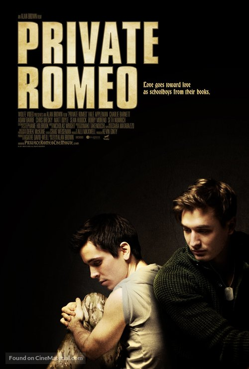 Private Romeo - Canadian Movie Poster