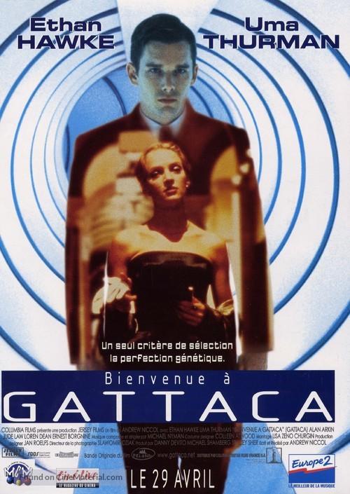 Gattaca - French Movie Poster