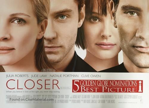Closer - British Movie Poster