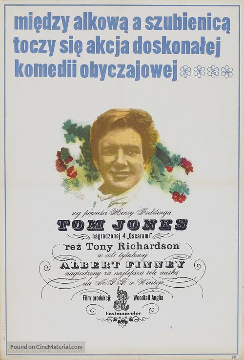 Tom Jones - Polish Movie Poster