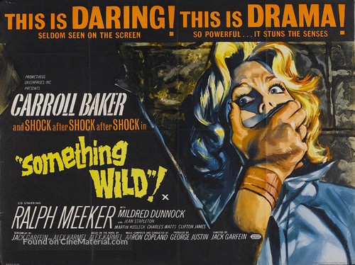 Something Wild - British Movie Poster