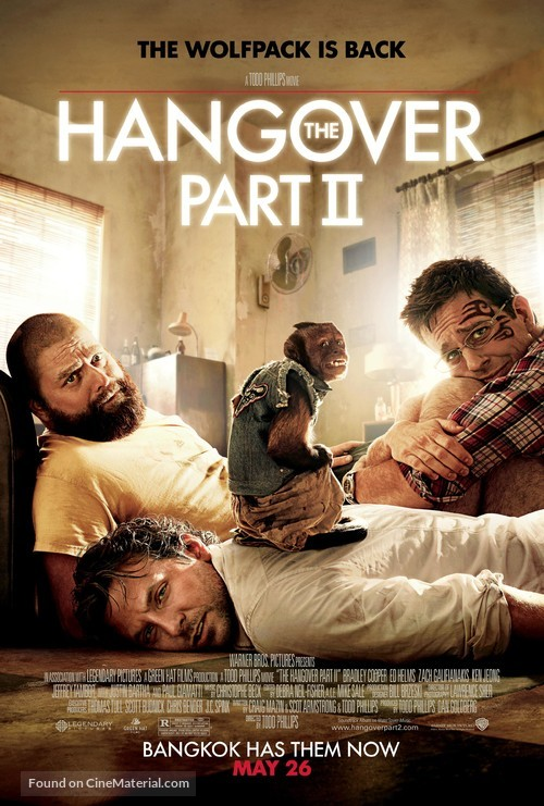 The Hangover Part II - Movie Poster