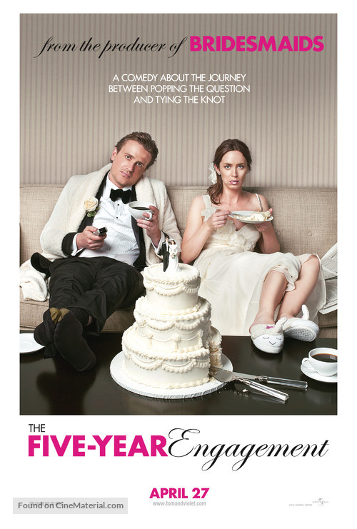 The Five-Year Engagement - Movie Poster
