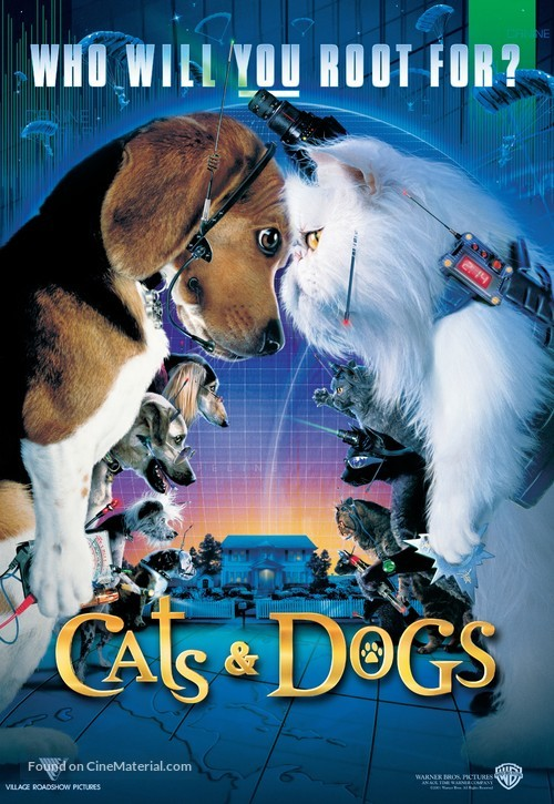 Cats & Dogs - Movie Poster