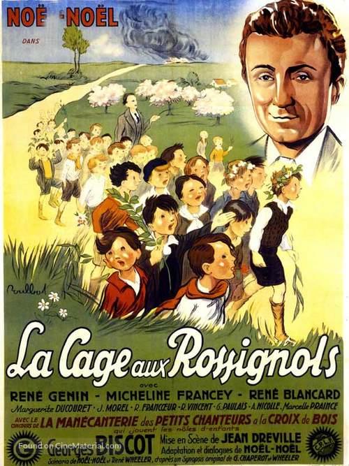 La cage aux rossignols - French Movie Poster