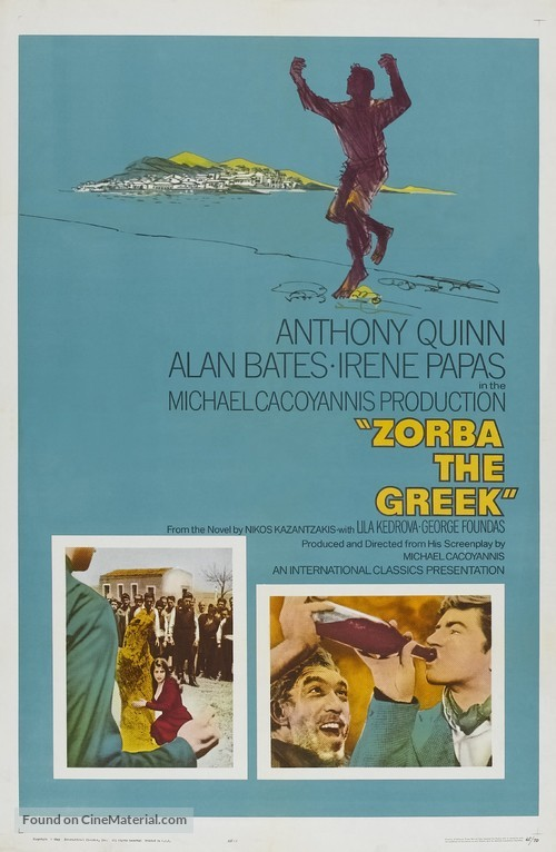Alexis Zorbas - Theatrical movie poster