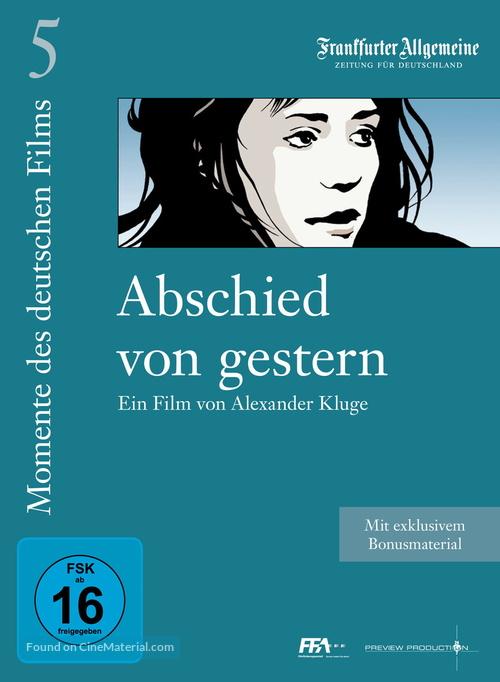 Abschied von gestern - - German DVD movie cover