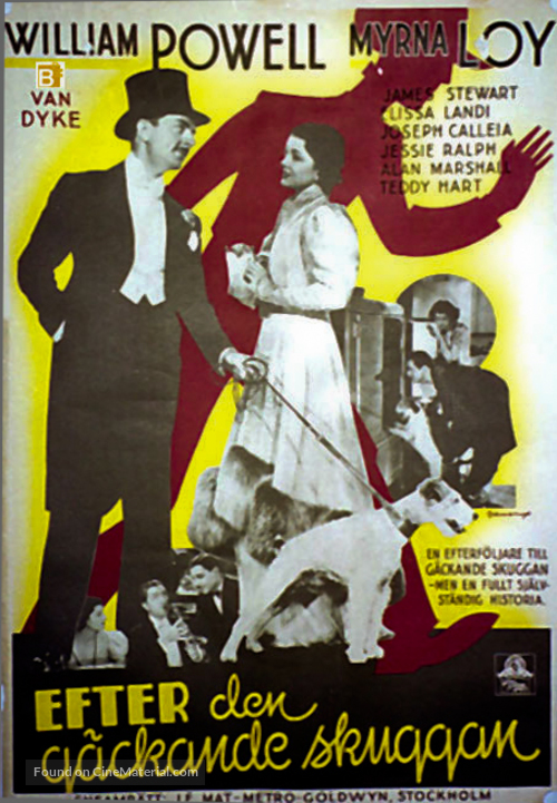 After the Thin Man - Swedish Movie Poster