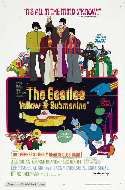Yellow Submarine - Movie Poster