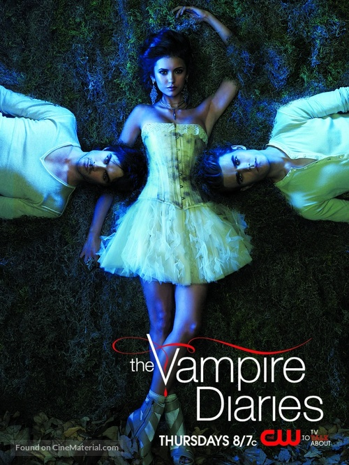"""The Vampire Diaries"" - Movie Poster"