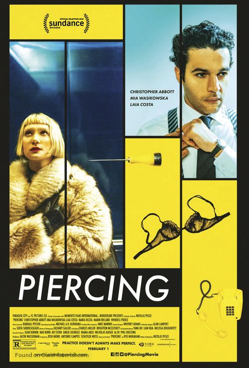 Piercing - Movie Poster