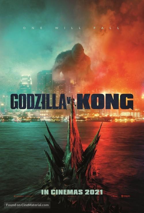 Godzilla vs. Kong - British Movie Poster