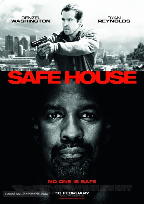 Safe House - British Movie Poster