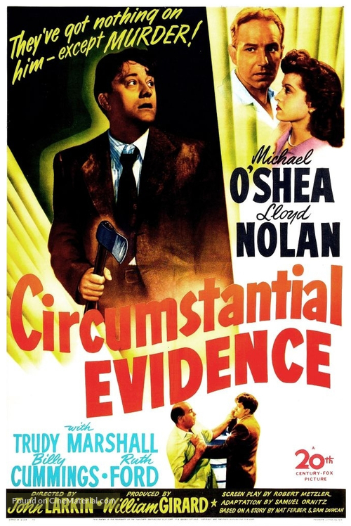 Circumstantial Evidence - Movie Poster