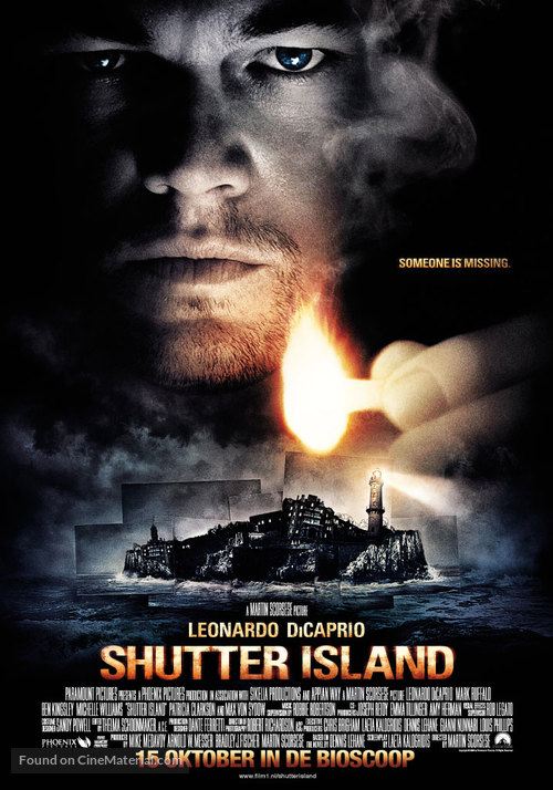 Shutter Island - Dutch Movie Poster