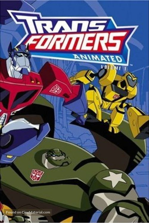 """Transformers: Animated"" - DVD movie cover"