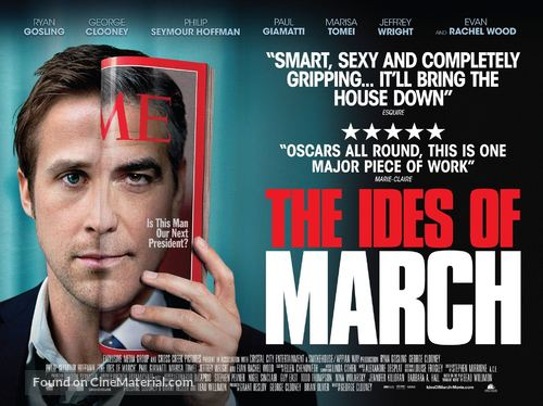 The Ides of March - British Movie Poster
