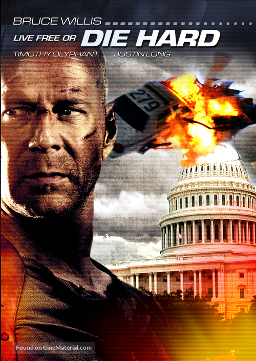 Live Free or Die Hard - Movie Cover