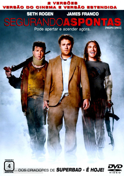 Pineapple Express - Portuguese Movie Cover