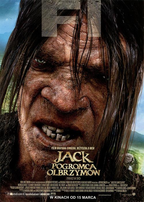 Jack the Giant Slayer - Polish Movie Poster