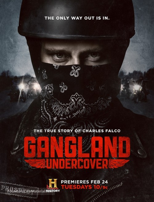 """""""Gangland Undercover"""" - Movie Poster"""