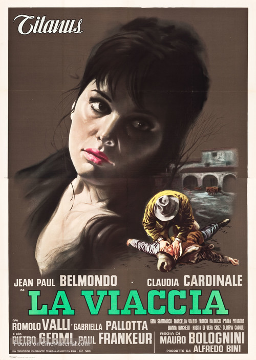 La viaccia - Italian Movie Poster